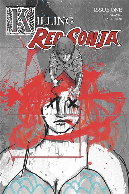 KILLING RED SONJA #1 20 COPY WARD CRIMSON SPOT COLOR INCV