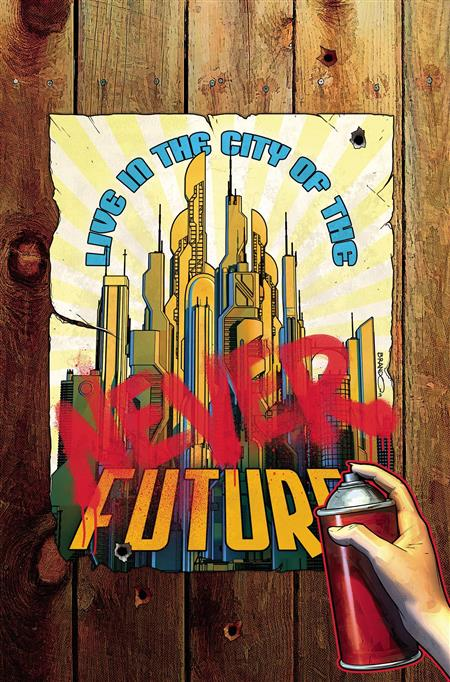 JOIN THE FUTURE #1 15 COPY PETERSON INCV
