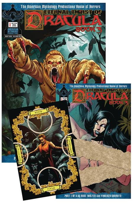 ETERNAL THIRST OF DRACULA 3 #1 SGND COLL SET (MR) (C: 0-1-2)