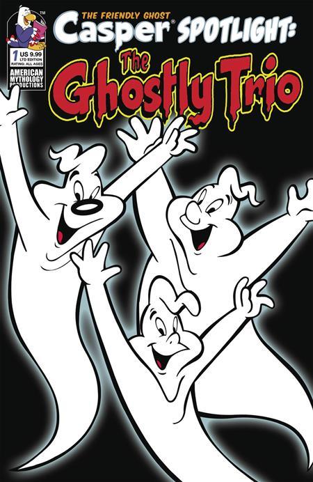 CASPER SPOTLIGHT GHOSTLY TRIO #1 CVR B LTD RETRO ANIMATION