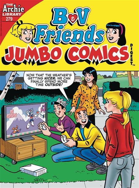 B & V FRIENDS JUMBO COMICS DIGEST #279