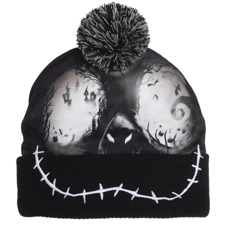 NIGHTMARE BEFORE CHRISTMAS SUBLIMATED BEANIE (C: 0-0-2)