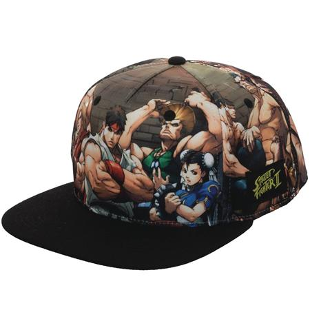 STREET FIGHTER SUBLIMATED SNAPBACK CAP (C: 0-0-2)