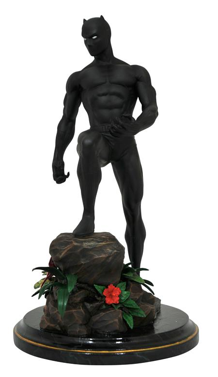 MARVEL PREMIER COLLECTION COMIC BLACK PANTHER STATUE (C: 1-1