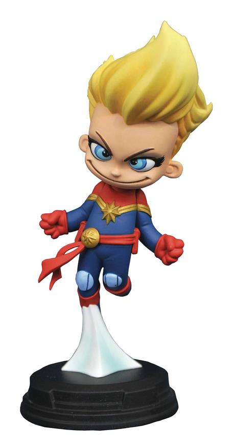 MARVEL ANIMATED CAPTAIN MARVEL STATUE (C: 1-1-2)