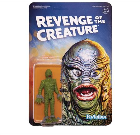 UNIVERSAL MONSTERS WV 2 REVENGE OF THE CREATURE REACTION FIG