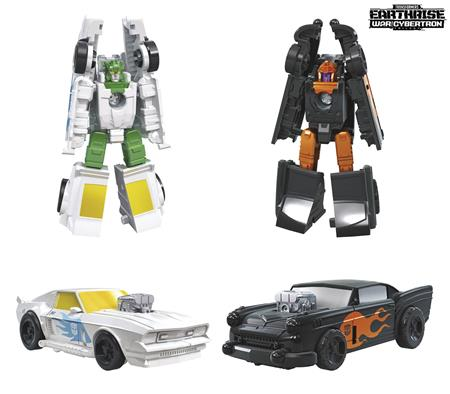 TRANSFORMERS GEN WFCE HOT ROD PATROL MICRO AF CS (Net) (C: 1