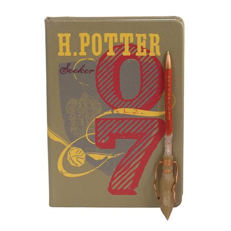 HARRY POTTER SEEKER JOURNAL & FIREBOLT PEN (C: 1-0-1)