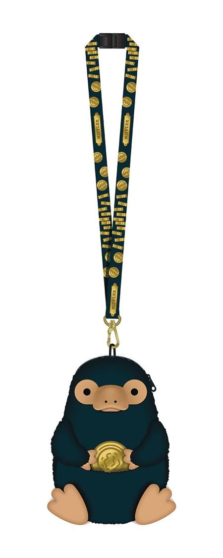 FANTASTIC BEASTS NIFFLER DELUXE PLUSH POUCH LANYARD (C: 1-1-