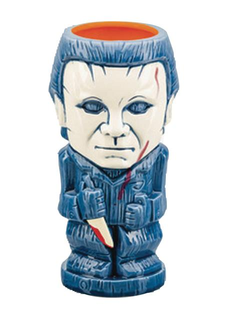 HALLOWEEN MICHAEL MYERS CERAMIC MUG (C: 1-1-2)