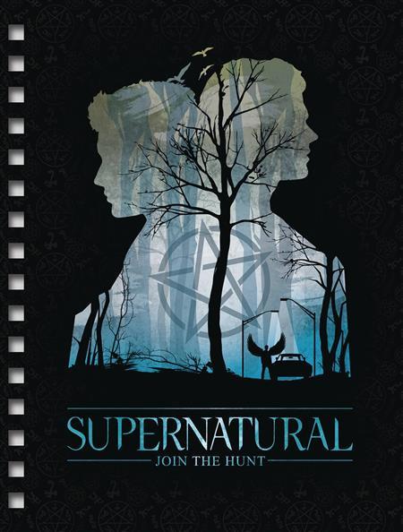 SUPERNATURAL SPIRAL NOTEBOOK (C: 1-1-2)