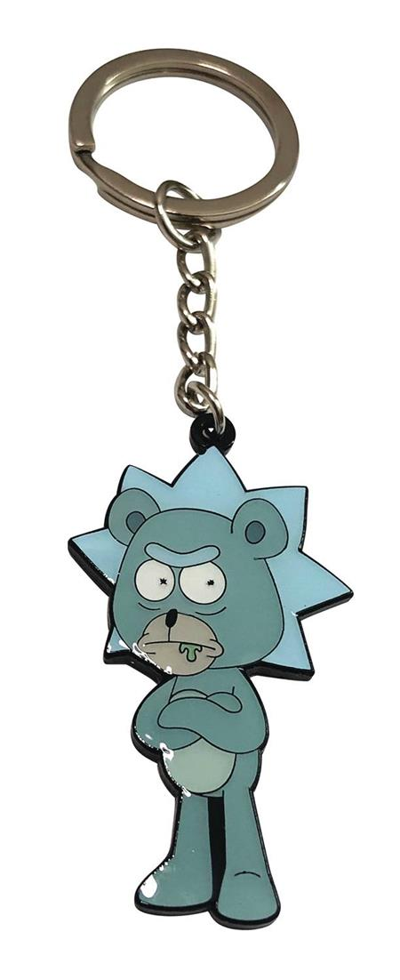 RICK AND MORTY TEDDY RICK KEYCHAIN (C: 1-1-2)