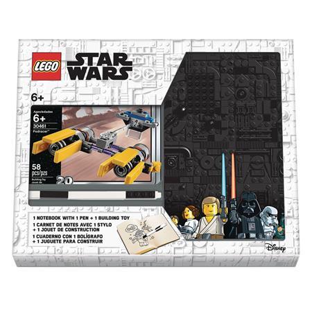 LEGO STAR WARS PODERACER NOTEBOOK AND PEN RECRUIT BAG (Net)