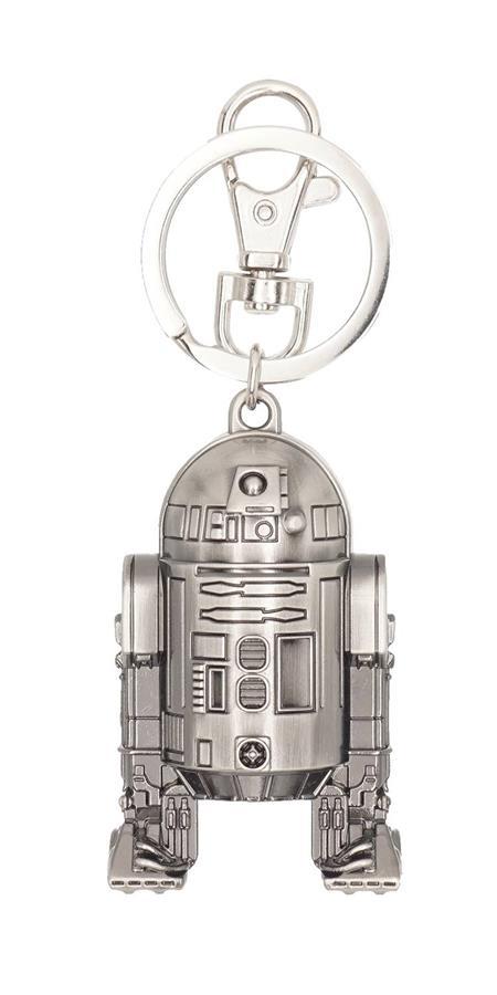 STAR WARS R2-D2 PEWTER KEY RING (C: 1-1-2)