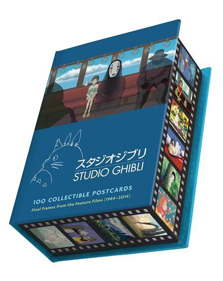STUDIO GHIBLI 100PC COLLECTIBLE POSTCARD SET (C: 1-1-2)