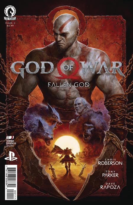 GOD OF WAR FALLEN GOD #1 (OF 4)