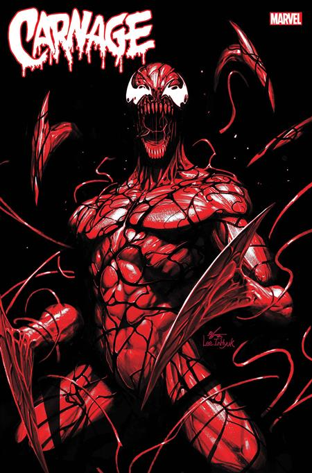 CARNAGE BLACK WHITE AND BLOOD #1 (OF 4) INHYUK LEE VAR