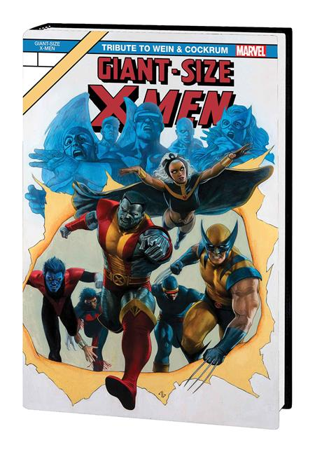 GIANT-SIZE X-MEN TRIBUTE WEIN COCKRUM GALLERY EDITION HC