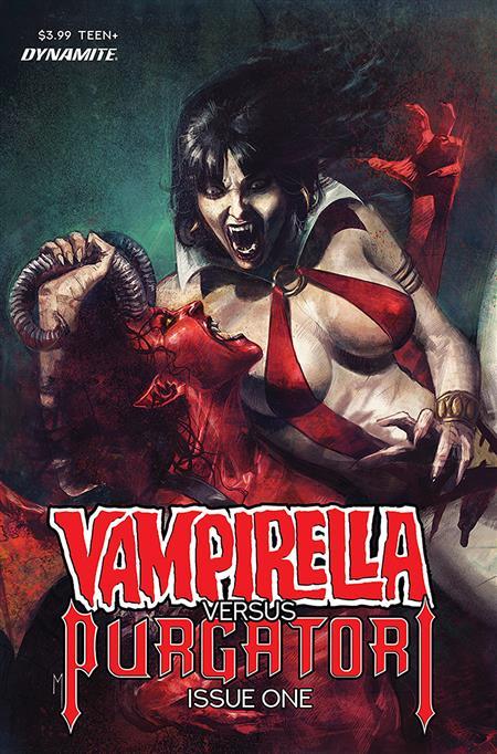 VAMPIRELLA VS PURGATORI #1 CVR E MASTRAZZO