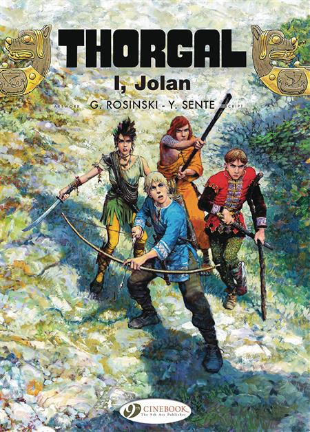 THORGAL GN VOL 22 I JOLAN (C: 0-1-0)
