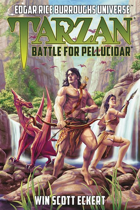 ERB UNIVERSE NOVEL SC VOL 02 TARZAN BATTLE FOR PELLUCIDAR (C
