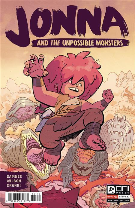 JONNA AND THE UNPOSSIBLE MONSTERS #1 CVR A SAMNEE