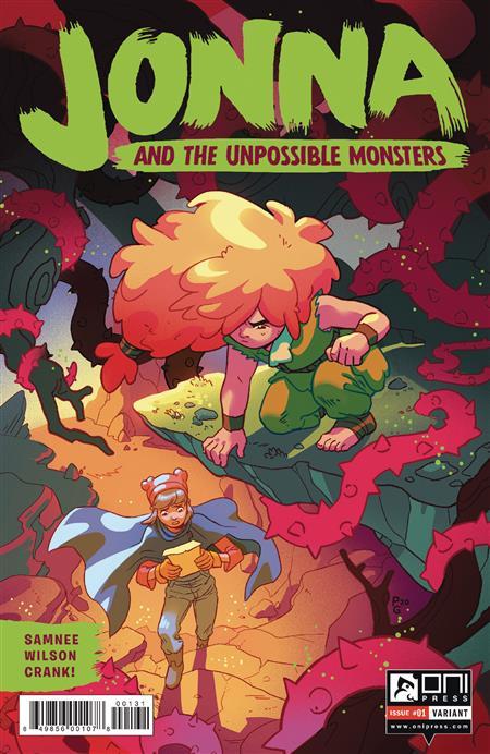 JONNA AND THE UNPOSSIBLE MONSTERS #1 CVR C GANUCHEAU INCTV