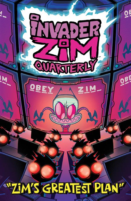 INVADER ZIM QUARTERLY ZIMS GREATEST PLAN #1 CVR A STRESING