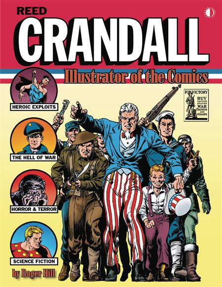 REED CRANDALL ILLUSTRATOR OF COMICS SC (C: 0-1-1)