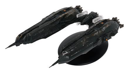 STAR TREK DISCOVERY FIG MAG #33 KLINGON CHARGH-CLASS SHIP (C