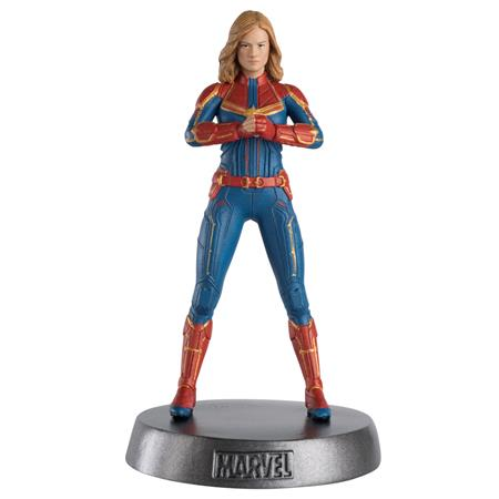 MARVEL MOVIE HERO COLLECTOR HEAVYWEIGHTS #9 CAPTAIN MARVEL (