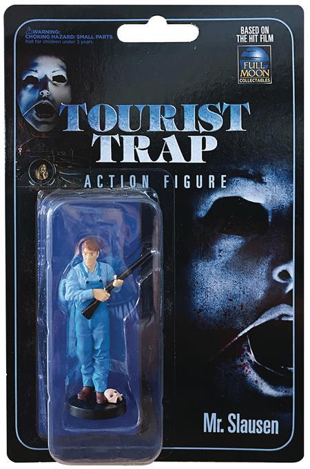 TOURIST TRAP ACTION FIGURE SERIES MR SLAUSEN AF (Net) (C: 1-