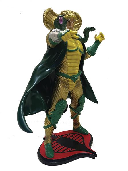 GI JOE SERPENTOR 1:8 SCALE PVC STATUE (C: 1-1-2)
