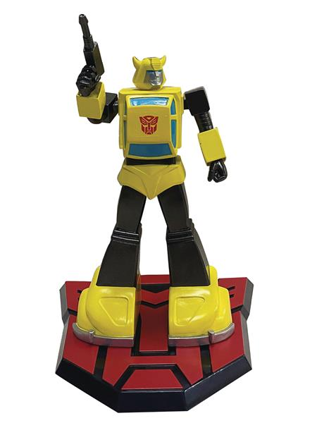 TRANSFORMERS BUMBLEBEE 9IN PVC STATUE (C: 1-1-2)