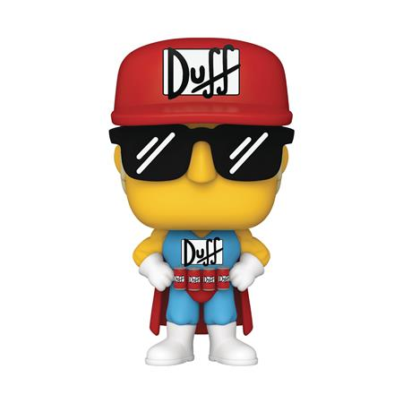 POP ANIMATION SIMPSONS DUFFMAN VIN FIG (C: 1-1-2)