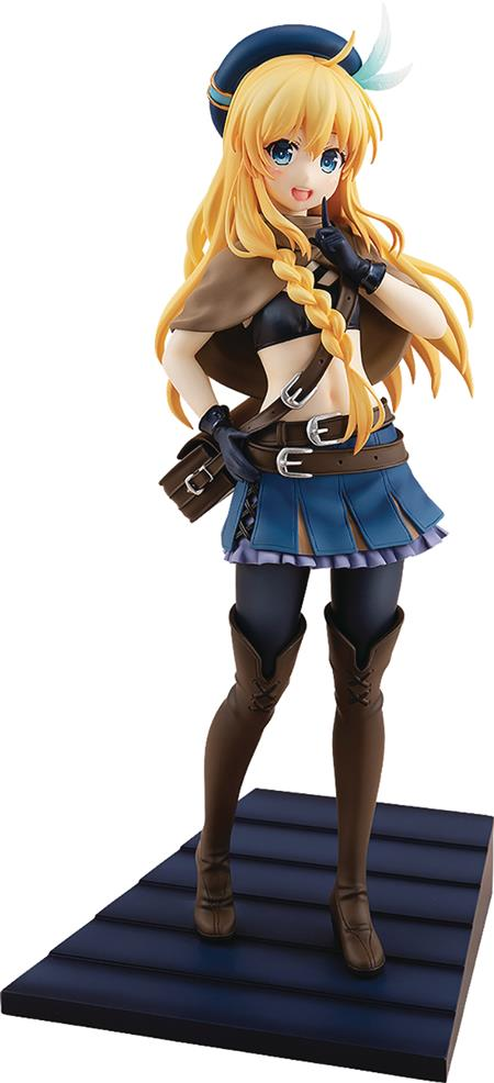 ZOKU KONO SUBARASHII IRIS 1/7 PVC FIG BAND OF THIEVES VER (C