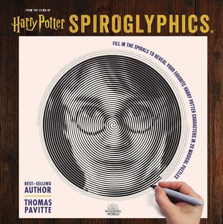 HARRY POTTER SPIROGLYPHICS ACTIVITY BOOK (C: 1-1-2)