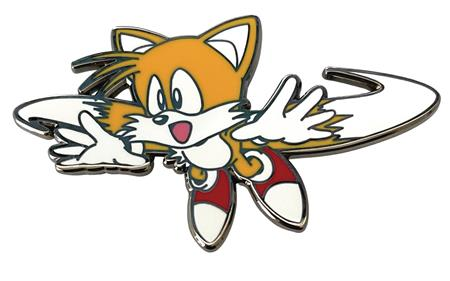 SONIC THE HEDGEHOG FLYING TAILS PIN (C: 1-1-2)