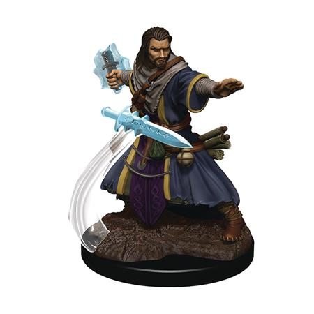D&D ICONS REALMS PREMIUM FIG HUMAN WIZARD MALE (C: 0-1-2)