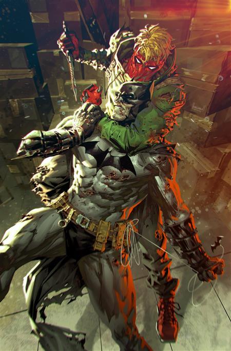 BATMAN URBAN LEGENDS #1 CVR C KAEL NGU BATMAN GRIFTER VAR