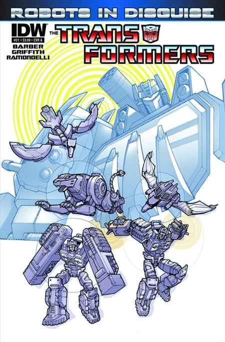 TRANSFORMERS ROBOTS IN DISGUISE #21