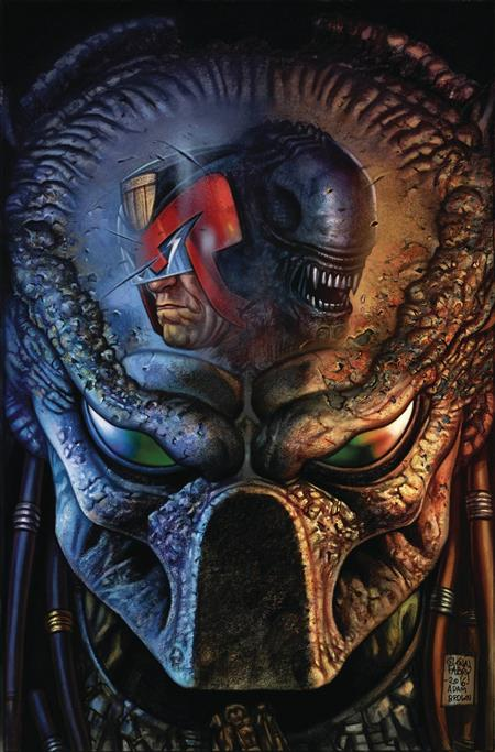 PREDATOR VS JUDGE DREDD VS ALIENS #3 *CLEARANCE*