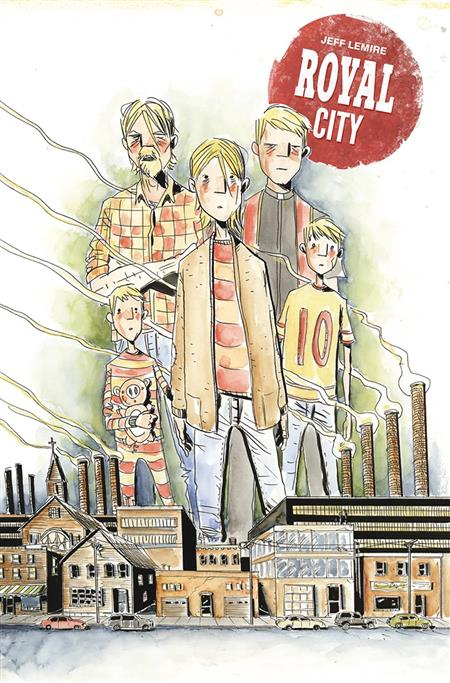 ROYAL CITY TP VOL 01 NEXT OF KIN DCBS EXC