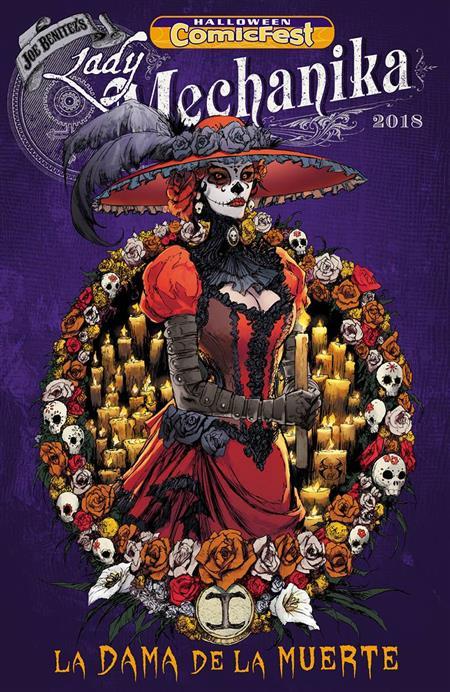 HCF 2018 LADY MECHANIKA LA DAMA DE LA MUERTE #1 (Net)