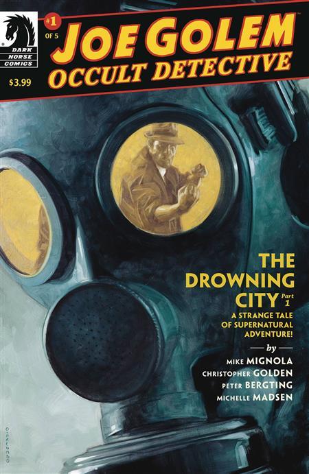 JOE GOLEM #1 (OF 5) THE DROWNING CITY