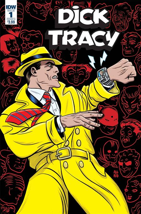 DICK TRACY DEAD OR ALIVE #1 (OF 4) CVR A ALLRED