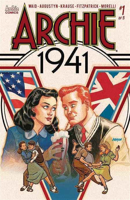 ARCHIE 1941 #1 (OF 5) CVR D JOHNSON