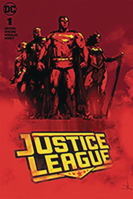 DF JUSTICE LEAGUE #1 JETPACK COMICS JOCK EXC (C: 0-1-2)
