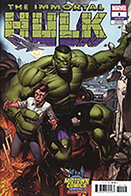 DF IMMORTAL HULK #1 KEOWN MIDTOWN EXC (C: 0-1-2)