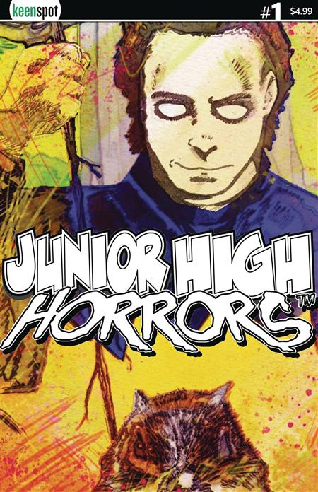 JUNIOR HIGH HORRORS #1 CVR D MIKET 1:5 RETAILER INCENTIVE